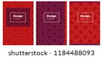 dark blue  red vector pattern...
