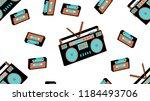texture seamless pattern from... | Shutterstock .eps vector #1184493706