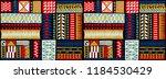 tribal vector ornament....   Shutterstock .eps vector #1184530429