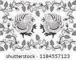 batik indonesian  is a...   Shutterstock .eps vector #1184557123