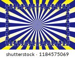 radial background material... | Shutterstock .eps vector #1184575069