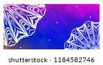 colorful ornamental ethnic... | Shutterstock .eps vector #1184582746