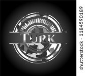 turk on grey camouflage texture | Shutterstock .eps vector #1184590189