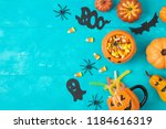 Halloween holiday background...
