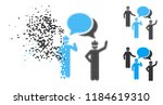 engineer persons forum icon in...   Shutterstock .eps vector #1184619310