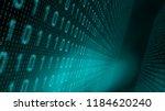 algorithm data processing... | Shutterstock . vector #1184620240