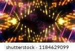 gold glitter lights background  ... | Shutterstock . vector #1184629099