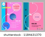 corporate cover design for... | Shutterstock .eps vector #1184631370