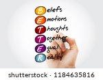 better   beliefs emotions... | Shutterstock . vector #1184635816