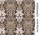 seamless vintage vector...   Shutterstock .eps vector #1184656816