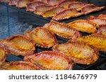 image of tasty pork ribs...   Shutterstock . vector #1184676979
