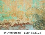 classic grunge wall background... | Shutterstock . vector #1184683126