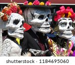 dia de los muertos  day of the... | Shutterstock . vector #1184695060