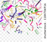 bright sparkle of colorful... | Shutterstock .eps vector #1184706916