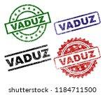 vaduz seal prints with distress ... | Shutterstock .eps vector #1184711500