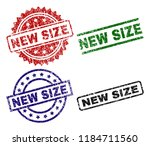 new size seal prints with... | Shutterstock .eps vector #1184711560