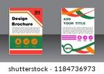 book cover vector modern... | Shutterstock .eps vector #1184736973