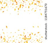 confetti of two colored rhombs... | Shutterstock .eps vector #1184751670