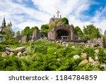 lichen   poland   07.08.2018 ... | Shutterstock . vector #1184784859