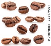 Collection Of Coffee Beans...