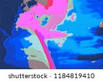 abstract background   colored... | Shutterstock . vector #1184819410