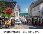 kendal  uk   july 27  2018 ... | Shutterstock . vector #1184849593