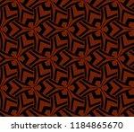 simple modern seamless... | Shutterstock .eps vector #1184865670