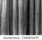 macro photo of fully threaded...   Shutterstock . vector #1184870479
