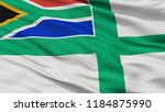 south africa naval ensign flag  ... | Shutterstock . vector #1184875990