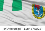nigeria naval ensign flag ... | Shutterstock . vector #1184876023