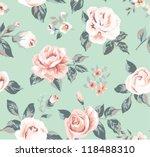 classic wallpaper seamless... | Shutterstock .eps vector #118488310