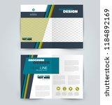abstract flyer design... | Shutterstock .eps vector #1184892169