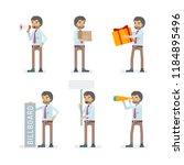 vector young adult man in...   Shutterstock .eps vector #1184895496