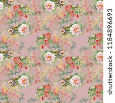 watercolor seamless pattern...   Shutterstock . vector #1184896693