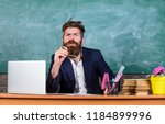 educator finished explanation ... | Shutterstock . vector #1184899996