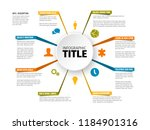 vector multipurpose infographic ... | Shutterstock .eps vector #1184901316