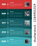 vector infographic company... | Shutterstock .eps vector #1184901319