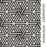 vector seamless pattern. modern ... | Shutterstock .eps vector #1184904769