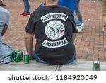 ajax supporters t shirt at... | Shutterstock . vector #1184920549