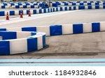 racing track go kart circuit. | Shutterstock . vector #1184932846