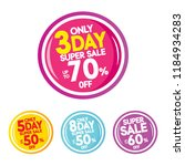 sale and special offer tag ... | Shutterstock .eps vector #1184934283