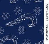 vector of winter seamless...   Shutterstock .eps vector #1184942209