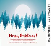 merry christmas and happy new... | Shutterstock .eps vector #1184962159