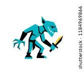 vector rpg medieval fantasy... | Shutterstock .eps vector #1184969866