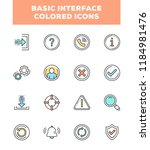 basic interface colored line...
