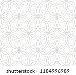 black and white geometric... | Shutterstock .eps vector #1184996989