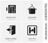 set of 4 editable travel icons. ...