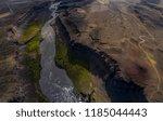 icelandic aerial photography...   Shutterstock . vector #1185044443