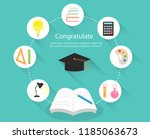 background education concepts.  ... | Shutterstock .eps vector #1185063673