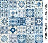 traditional ornate decorative...   Shutterstock . vector #1185077089